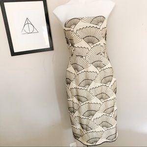 Nanette Lenore Strapless Shell Dress